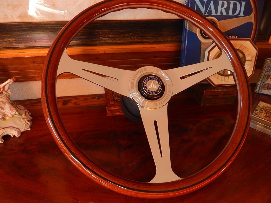 152 mercedes steering wheel for Mercedes benz wood steering wheel