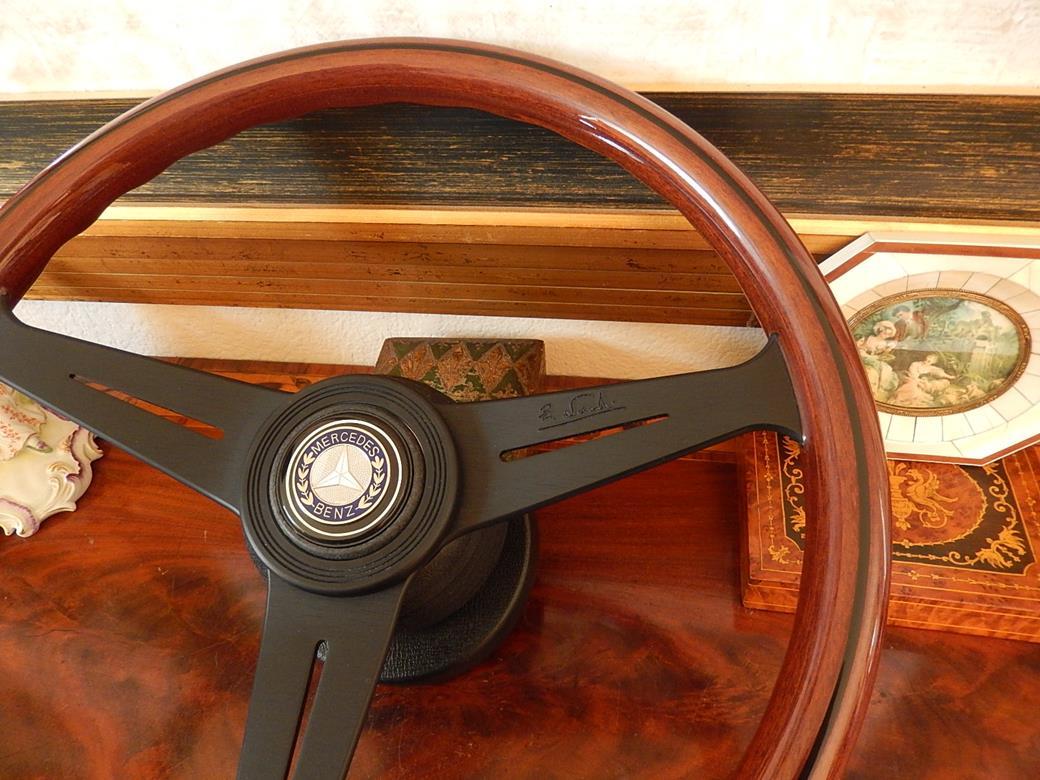 170 mercedes steering wheel for Mercedes benz wood steering wheel