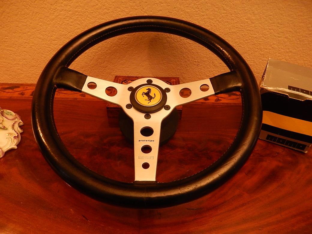 182 ferrari steering wheel sold. Black Bedroom Furniture Sets. Home Design Ideas