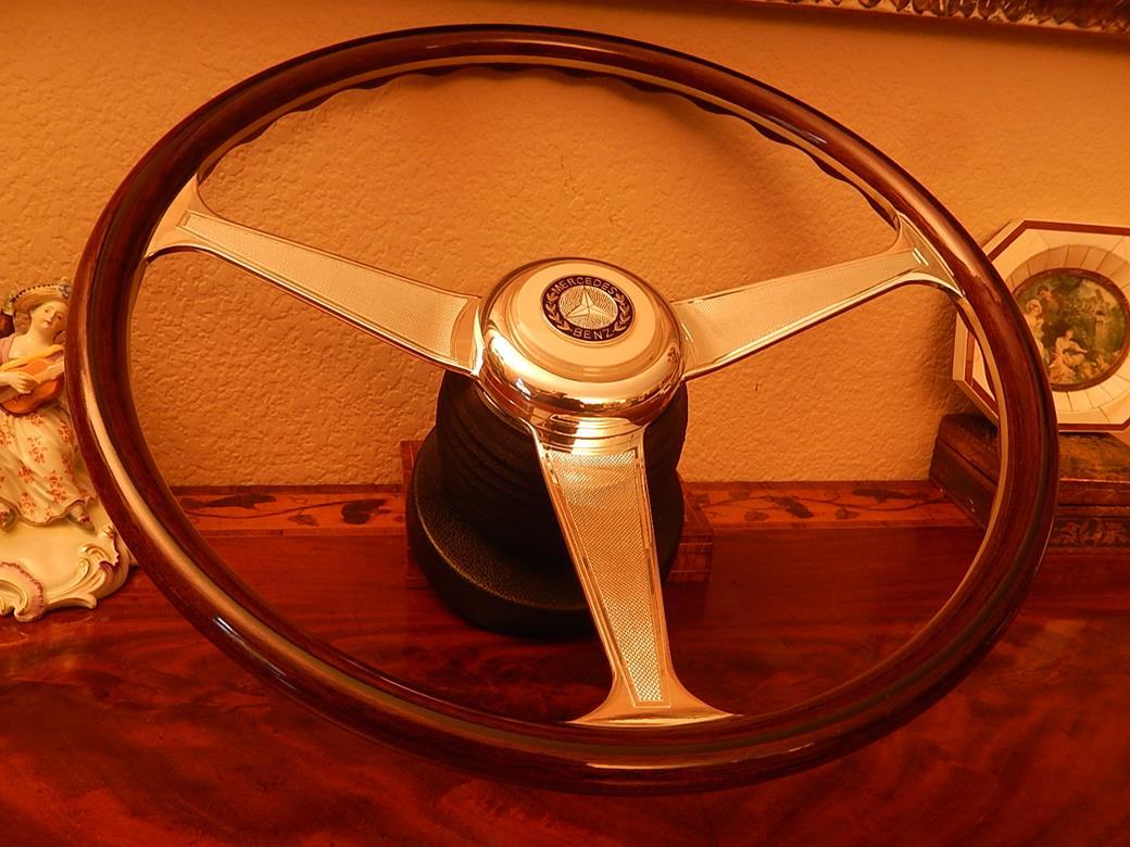 192 mercedes steering wheel for Mercedes benz wood steering wheel