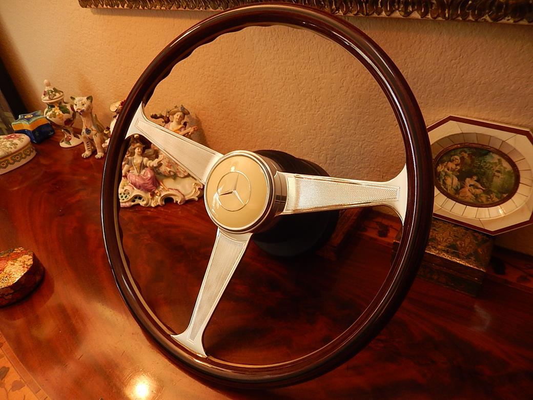 214 mercedes steering wheel for Mercedes benz wood steering wheel