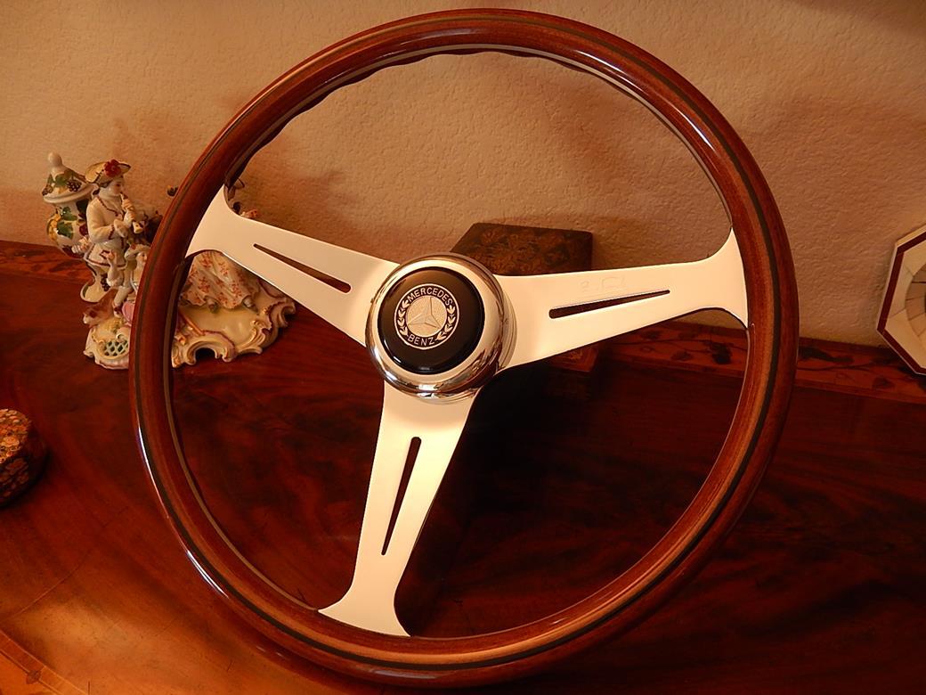 202 mercedes steering wheel for Mercedes benz wood steering wheel