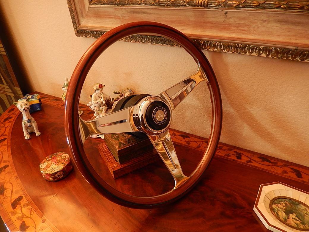 201 mercedes steering wheel for Mercedes benz wood steering wheel