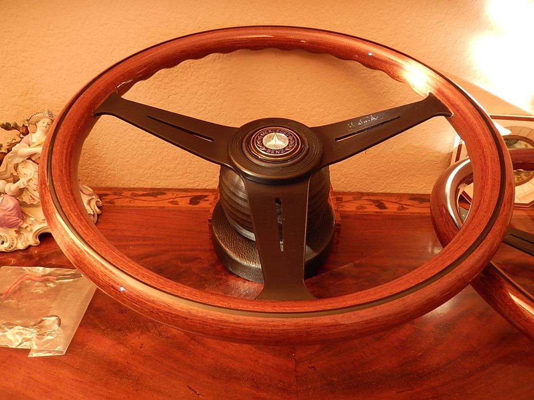 205 mercedes steering wheel for Mercedes benz wood steering wheel