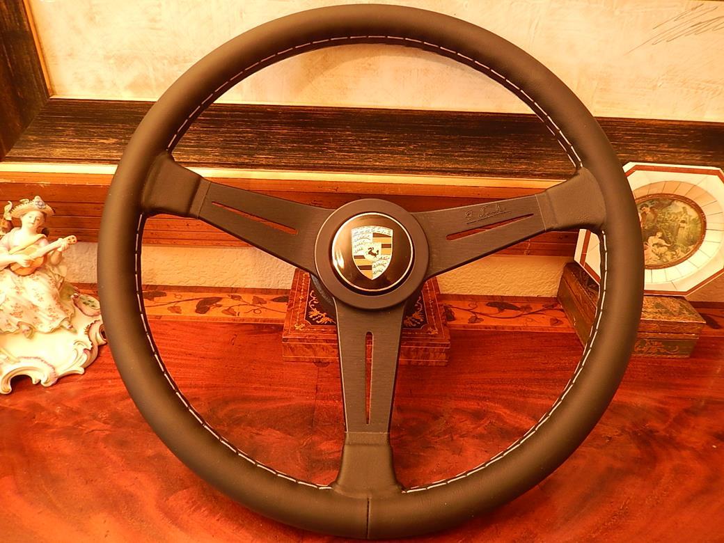 212 Porsche Leather Steering Wheel