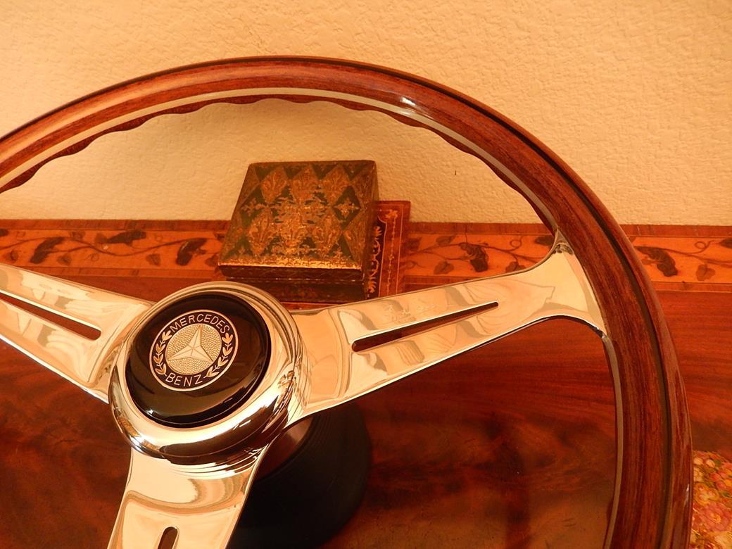 222 mercedes steering wheel for Mercedes benz wood steering wheel