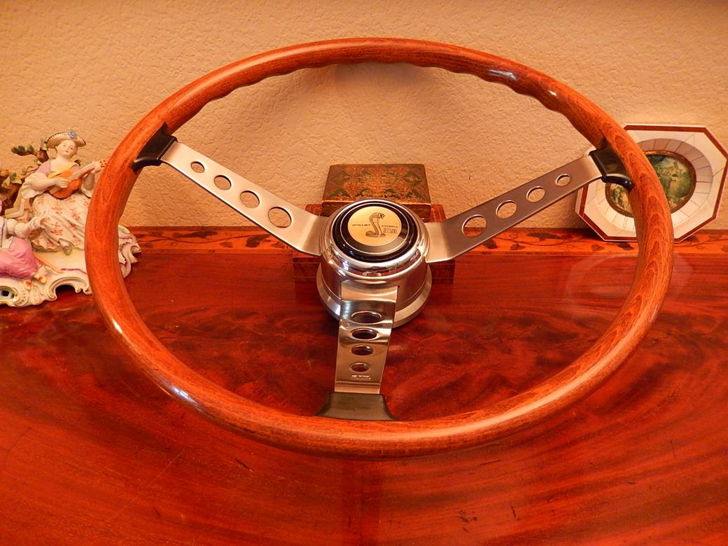 229 Shelby Cobra Effpi 1967 1968 Steering Wheel