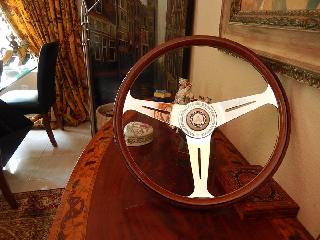 231 mercedes steering wheel for Mercedes benz wood steering wheel