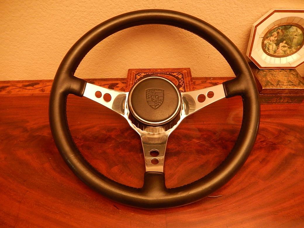 238 Porsche Steering Wheel