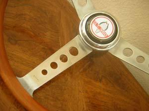 effpi wood steering wheeel