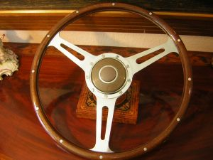 porsche derrington steering wheel
