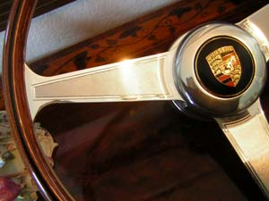 porsche 356 nardi steering wheel