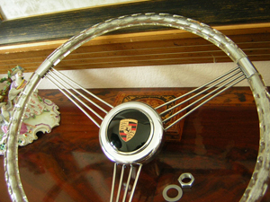 porsche banjo steering wheel