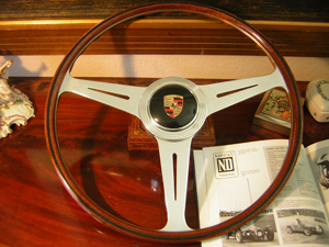 porsche wood steering wheel 3