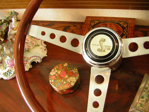 67 shelby wood steering wheel