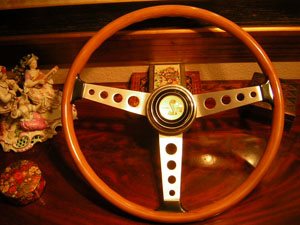 shelby steering wheel