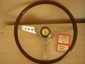 shelby 66 wood steering wheel