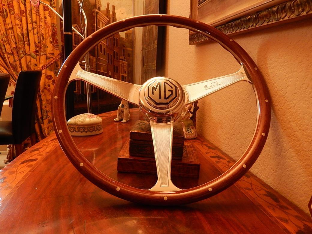 Mg Td Steering Wheel