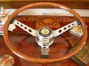 Shelby 68 EFFPI Wood Steering Wheel