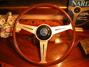 Mercedes Nardi & C Wood Steering Wheel 300SL Roadster