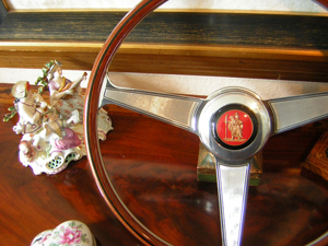 Porsche Nardi Wood Steering Wheel 1964 St Christopher