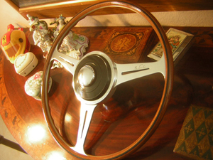 Silver Cloud III Nardi Wood Steering Wheel 1963