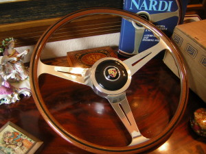 Porsche 356 B C Wood Steering Wheel