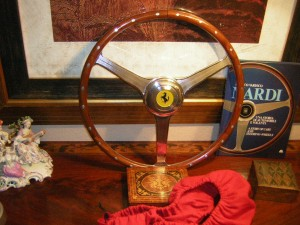 Racing Ferrari Steering Wheel Fits Ferrari Vignale 1948 to 1950s