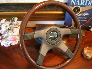 AMG NARDI Nardi Wood Steering Wheel for Mercedes R107 W107 350SLC 450SL 450SLC 5.0 380SL 420SL 500SL 560SL