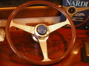 Nardi Wood Steering Wheel to fit on Mercedes Benz W113 from 1963 to 1966 230 SL 250 SL