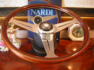 Mercedes Nardi Wood Steering Wheel