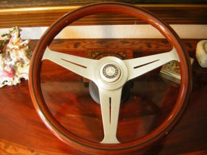 Nardi Personal Wood Steering Wheel Fits all Mercedes 1980 to 1989