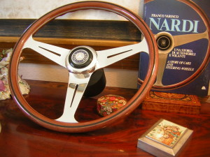 Nardi Steering Wheel for Mercedes Benz W107 350 SL 450 SL 350 SLC 450 SLC 1976- 1979