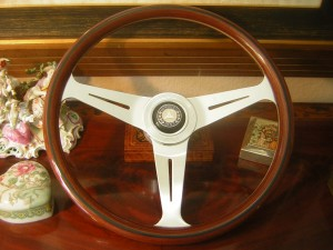 Nardi Wood Steering Wheel for Mercedes Benz 190 SL